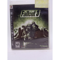 Video Game Play Station 3 Fallout 3 Americano Completo.