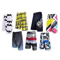 Kit/5 Shorts Tactel Masculino Barato Surf Praia !!!!!!!!!!!!
