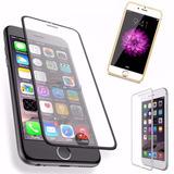 Pelicula Vidro Iphone 6 6s Plus Tela Inteira Borda Alumínio