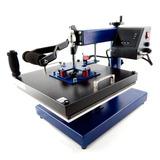 Máquina De Estampar Multifuncional Plana 38x38cm 8 Em 1 110v