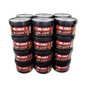 Gel Cola 300g 24 Potes Caixa Fechada Alfa Looks Atacado