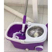 Balde Spin Mop Esfregão Limpeza Prática