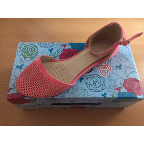 Sandalias /zapatillas Color Coral Talla 35 1/2 Nuevos