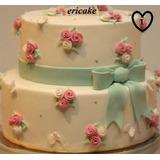 Torta Artesanales Bodas, 15 Años, Aniversarios Ericake