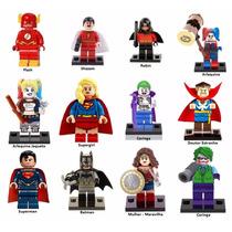 Bonecos Lego Dc Liga Da Justiça Marvel Miniatura Promoção