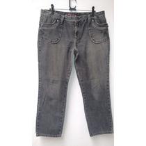 Calca Jeans Capri Feminina Luigi Bertolli 46- Usada