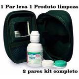 Black Julho - Lente De Contato Verde + Kit Limpeza + Frete