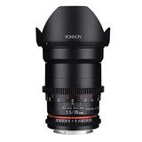Lente Rokinon Cine Ds Ds35m-c 35mm T1.5 As If Umc Full