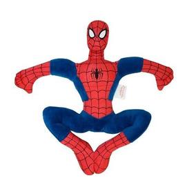 Boneco Avengers Homem Aranha Com Ventosa