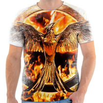Camisa Camiseta Personalizada Jogos Vorazes Filme 14
