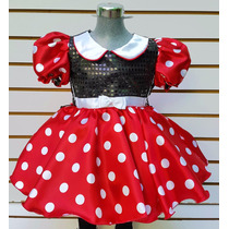 Vestido Mimi Mouse Ratona Minnie Mouse Mallas Diadema Niñas
