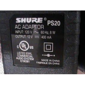 Fonte 120v Para Receptor Transmissor Shure Sre Ps20