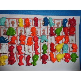 Coleção Completa 90 Gogos Fut Gogos Crazy Bones Panini