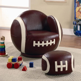 Sillón Importado Niños Futbol Americano Nfl Coaster Kids