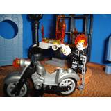 Motoqueiro Fantasma Ghost Rider Moto Johnny Blaze
