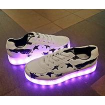 Teniss Led Luminosos Zapatos Envio Gratis Diferentes Modelos