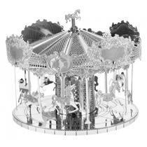 Rompecabezas Metalico 3d Carrusel - Fascinations