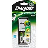 Cargador De Baterias Energizer Mini Con 2 Baterias