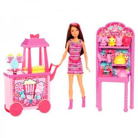 Barbie Irmãs Pipocas E Recordações Da Feira Mattel X9059