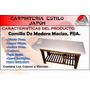 Camilla De Madera, Fijas C/a Facial, Spa, Estetica, Masajes.