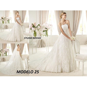 Vestido De Novia Nuevo Barato Bonito Elegante Boda Modelo 25