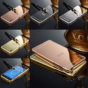Bumper Lujo Aluminio Espejo Sony Xperia Z2 Z3 Z4 Z5 + Regalo