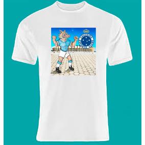 Camiseta Time De Futebol-mascote Do Cruzeiro (raposa) 7f1f70a90d7cd