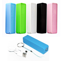Bateria Respaldo Power Bank 2600 Mah Iphone Celulares