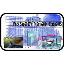 Pack+sap2000 V18+etabs 2017+safe V15+video+cursos+ingenieria