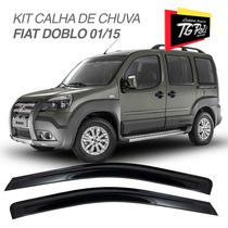 Calha De Chuva Para Fiat Doblo 01 02 03 04 05 06 07 08 09 10