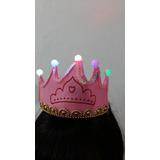 Vincha Corona De Princesa Con Luz