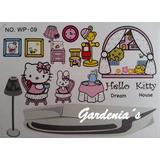 Calcomanias Hello Kitty Para Decorar Dormitorio