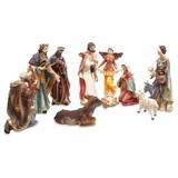 Hermosa Navidad Natividad Set - 11 Piezas + Envio Gratis