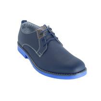 Zapato Informal En Cuero Repujado 100% Nacional - Cuero