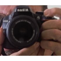 Seminova Nikon 3300, 2 Objetivas. Tudo Barato!
