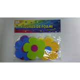 Figuras En Foami Flor 5 Petalos De 10 Cm