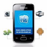 Celular Smartphone Android Samsung Galaxy Y Duos S6102 Preto