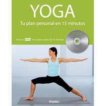 Yoga Tu Plan Personal 15 Minutos Louis Grime Incluye Dvd