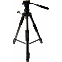 Tripé Hidráulico Foto Filmagm Camera Nikon Sony Canon 5kg Sp