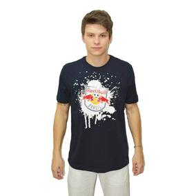 Camiseta Redbull Marinho/branco