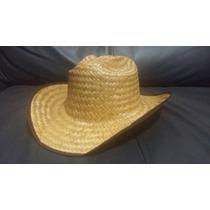 10 Sombrero Texano Paja Palma Barato Fiesta Evento Adulto