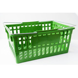Canasto Plástico 2 Manija Para Supermercado