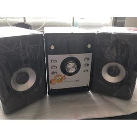 Som Mondial 50w Rms Com Dvd Player 2 Caixas Acústicas Com Nf