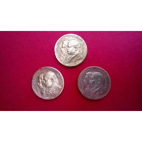 Moedas 1000 Réis- Centenário Independência -1822-1922- Lote
