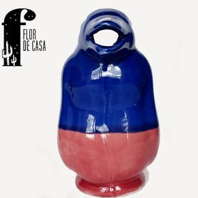 Pingüino - Jarra Para Vino - Cerámica