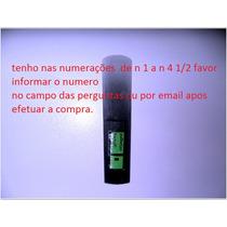 Palheta Sax Baixo 1 1/2 Forte Não Quebra Fácil 53,00