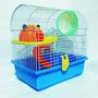 Hamsters-jaula Mediana De 2 Pisos-alimento Balanceado