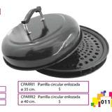 Parrilla Circular Enlozada 35 Cm