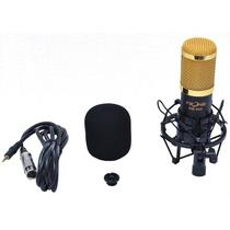 Microfone Fzone Bm800 Condensador Profissional Estúdio Kit