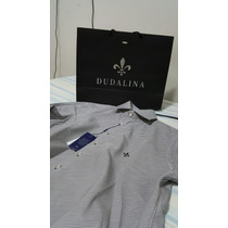 Camisa Social Dudalina Slim Fit Tamanho 1 Original